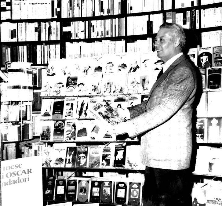 Rosario Mascali in libreria nel 1976